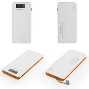 Power Bank Bilitong Y083, (orange, 13000mAh, USB output 5V 2A, with micro-USB cable)
