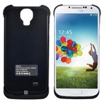 External Battery Charger Case for Samsung I9500 Galaxy S4 Cell Phone, (3300 mAh, white)