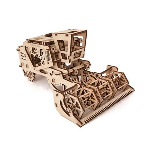 Mechanical 3D Puzzle UGEARS Combine Harvester