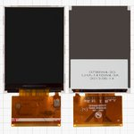 LCD for Fly TS107 Cell Phone, (37 pin) #TFT024F297FPC/TFT024K333FPC