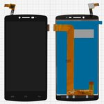 LCD for Prestigio MultiPhone 5550 Duo Cell Phone, (black, with touchscreen) #15-22391-47684/DJN-W6550-V4
