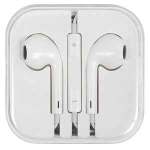 Headphone for Apple iPhone 4, iPhone 4S, iPhone 5, iPhone 5C, iPhone 5S, iPhone 6, iPhone 6 Plus, iPhone 6S, iPhone 6S Plus, iPhone SE Cell Phones, (white)