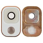 Camera Lens for Samsung N900 Note 3, N9000 Note 3, N9005 Note 3, N9006 Note 3 Cell Phones, (white and gold)