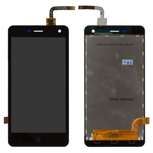LCD for ZTE Blade L3 Cell Phone, (black, with touchscreen)