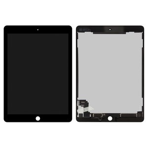 LCD for Apple iPad Air 2 Tablet, (black, with touchscreen)