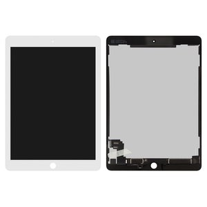 LCD for Apple iPad Air 2 Tablet, (white, with touchscreen)