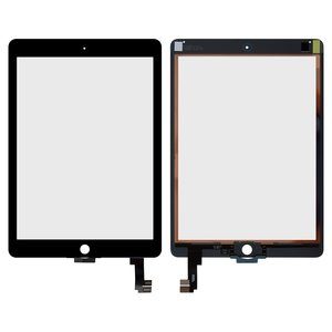 Touchscreen for Apple iPad Air 2 Tablet, (black)