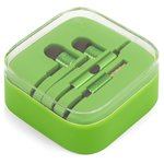Headphone EN50332-2, (green, TRRS 3.5 mm)