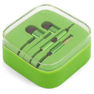 Headphone EN50332-2 for All Brands universal Cell Phone, (green)