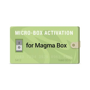 Micro-Box Activation for Magma Box