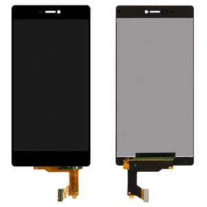 LCD for Huawei P8 (GRA L09) Cell Phone, (black, with touchscreen, original (PRC))