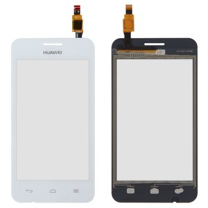 Touchscreen for Huawei Ascend Y330-U11 Dual Sim Cell Phone, (white)