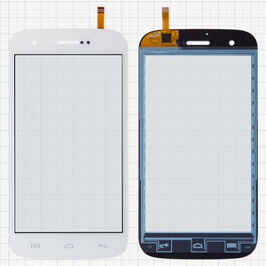 Touchscreen for BLU D530 Studio 5.0 Cell Phone, (white)