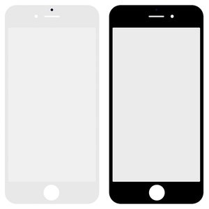 Housing Glass for Apple iPhone 6S Cell Phone, (original, 2.5D, white)