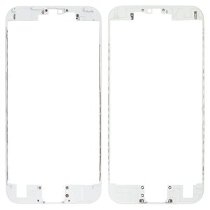 LCD Binding Frame for Apple iPhone 6S Cell Phone, (white)