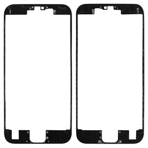 LCD Binding Frame for Apple iPhone 6S Cell Phone, (black)