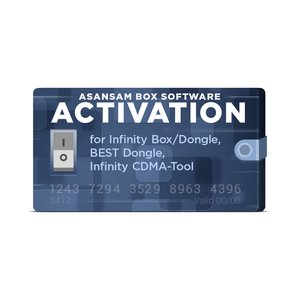 AsanSam Box Software Activation for Infinity Box / Dongle, BEST Dongle, Infinity CDMA-Tool