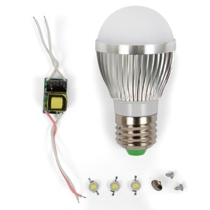 LED Lamp DIY Kit SQ-Q01 3 W (natural white, E27)