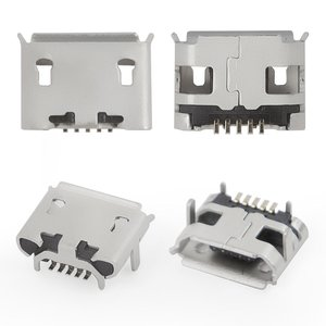 Charge Connector for Asus MeMO Pad HD7 ME173X (K00B) Tablet, (5 pin, micro USB type-B)