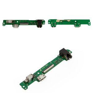 Flat Cable for Huawei MediaPad 10 Link 3G (S10-201u) Tablet, (charging connector, with component, green)