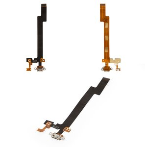 Flat Cable for Meizu MX5 Cell Phone, (charge connector, with components)