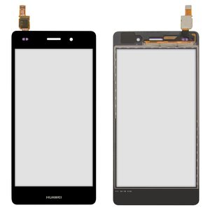 Touchscreen for Huawei P8 Lite (ALE L21) Cell Phone, (black)