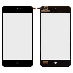 Touchscreen for Meizu MX2 Cell Phone, (black)