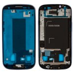 LCD Binding Frame for Samsung I9300i Galaxy S3 Duos Cell Phone, (dark blue)
