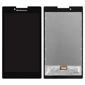 LCD for Lenovo Tab 2 A7-30HC Tablet, (black, with touchscreen) #TV070WSM-TL0
