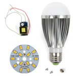 LED Light Bulb DIY Kit SQ-Q03 7 W (warm white, E27)