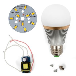 LED Light Bulb DIY Kit SQ-Q22 5730 5 W (warm white, E27)
