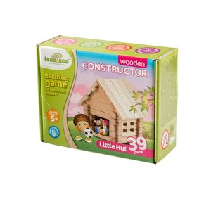 IGROTECO Little Hut Building Set