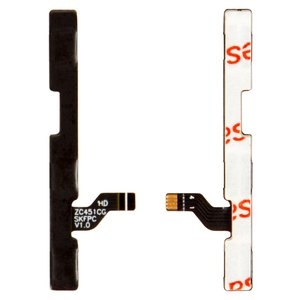 Flat Cable for Asus ZenFone C (ZC451CG) Cell Phone, (sound button, start button, with components)