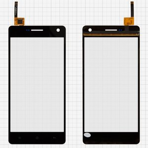 Touchscreen for Nomi i501 Style Cell Phone, (black) #F00G50XXXW6BV00