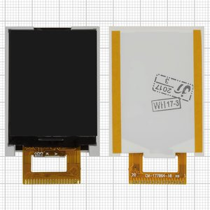 LCD for Nomi i182 Cell Phone, (20 pin) #CM-177B864-16