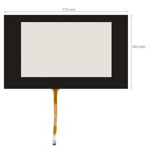 "6.5"" FlexibleTouch Screen Panel for Audi A3"