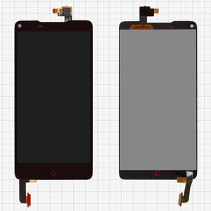 LCD for ZTE Nubia Z5S mini NX403A, Nubia Z5S mini NX404H Cell Phones, (black, with touchscreen)