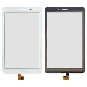 Touchscreen for Huawei MediaPad T1 8.0 (S8-701u), MediaPad T1 8.0 LTE T1-821L Tablets, (white) #HMCF-080-1607-V5