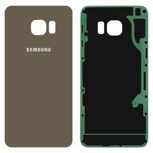 Housing Back Cover for Samsung G928 Galaxy S6 EDGE Plus Cell Phone, (golden, 2.5D, original (PRC))