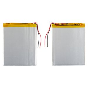 Battery, (89 mm, 68 mm, 2.6 mm, Li-ion, 3.7 V, 1700 mAh)