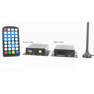 Car Digital MPEG4 DVB-T TV Receiver DVB-T7000