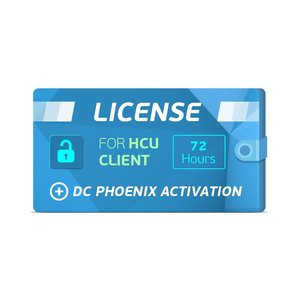 HCU Client 72 Hours License + DC Phoenix Activation