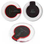 Wireless Charger, (black, output 1 a, Micro-USB input 5 v 2 a, type 1)