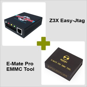 Z3X Easy-Jtag + E-Mate Pro EMMC Tool Combo Pack