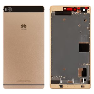 Housing for Huawei P8 (GRA L09) Cell Phone, (golden)