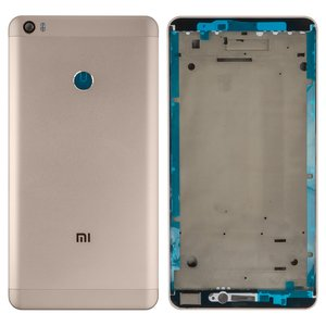 Housing for Xiaomi Mi Max Cell Phone, (golden)
