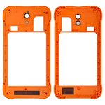 Housing Middle Part for Blackview BV5000 Cell Phone, (orange)