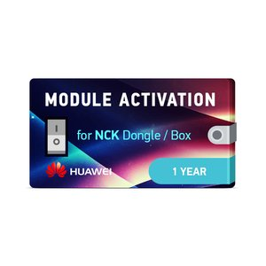 NCK Dongle / NCK Box 1 Year Huawei Module Activation