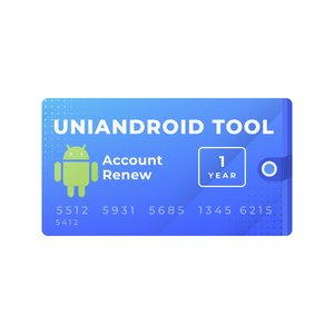 Uni-Android Tool 1 Year Account Renewal
