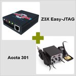 Z3X Easy-JTAG with Cables and JTAG ISP Adapter 5-in-1 + Accta 301 (220V)